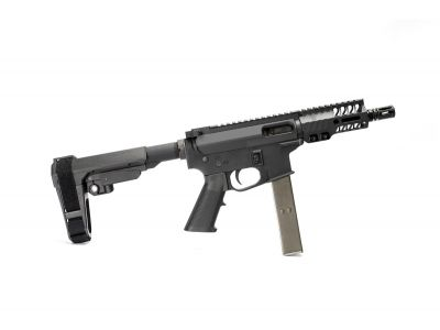 Rider (CLT) Rear Charging 9MM AR Pistol
